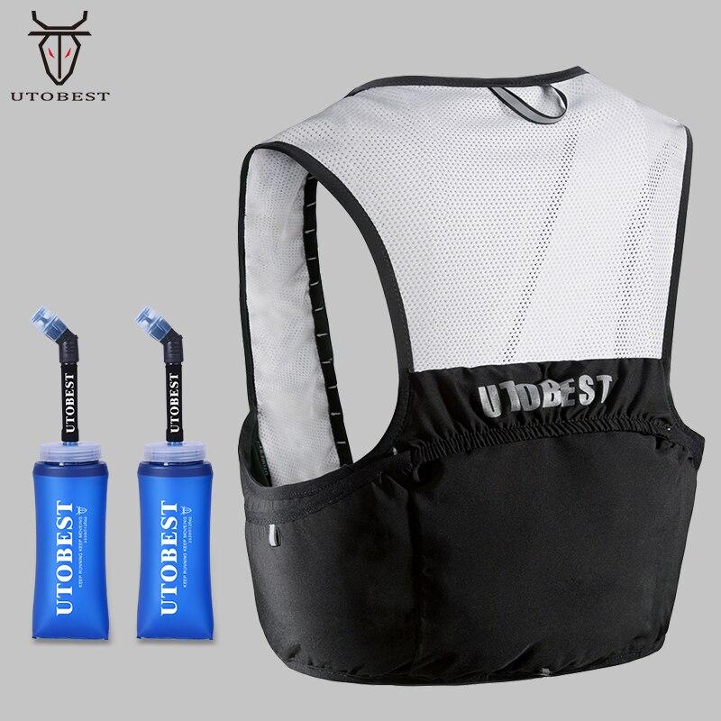 UTOBEST Trail Running Backpack for Men Women Lightweight Running Vest Hydration Backpack 2.5L